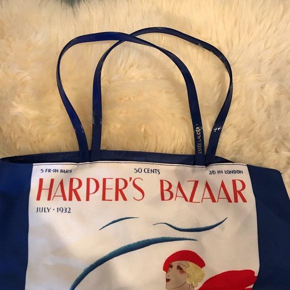 Estee Lauder Handbags - Harper Bazaar Carry All Bag